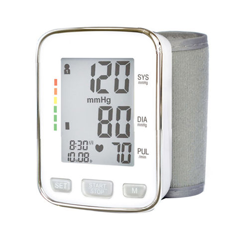 China Digital Blood Pressure Monitor, Wrist Type