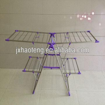 Stainless Steel Drying Rack Foldable Clotheshorse Clothes Drying