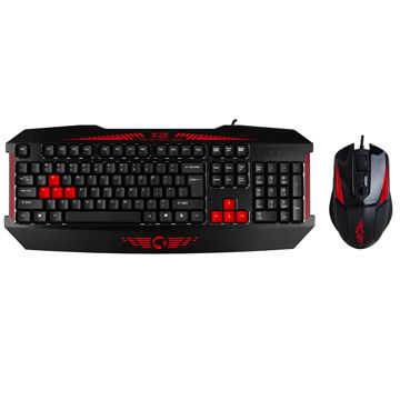 wired gaming keyboard and mouse combo on global sources. Black Bedroom Furniture Sets. Home Design Ideas
