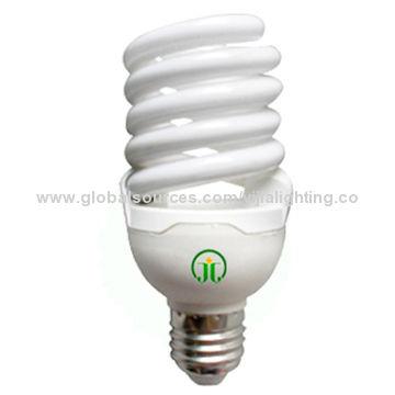 China Full spiral CFLs, 10mm tube diameter long life 8000hours