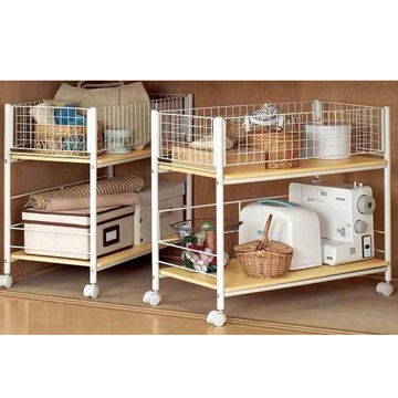 Teddy kitchen storage rack, K/D