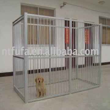 large dog kennel dog crate pet fence 1 materials high. Black Bedroom Furniture Sets. Home Design Ideas