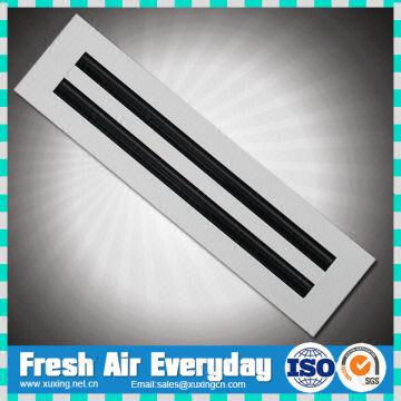 Air Conditioning Ceiling Linear Diffuser Grille Air Slot