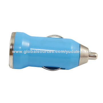 China Mini car charger with 5V/2A USB car charger for iPad/iPad mini, high quality and fast charging time