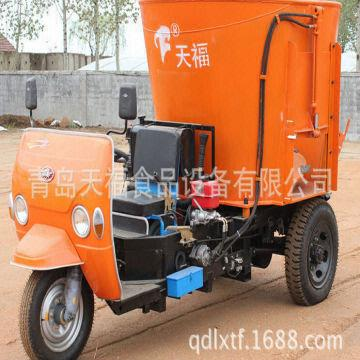 3cube Vertical Sprinkle feed TMR mixer machine | Global Sources
