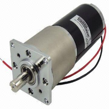 Dc brush planetary gear motor combines a dc motor with a for Dc planetary gear motor