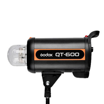 600W studio flash light QT600 with 0.05-1.2 recycling time, 1/5000-1/800s flash duration