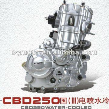 Loncin-Engines-250CC-water-cool-4-stroke