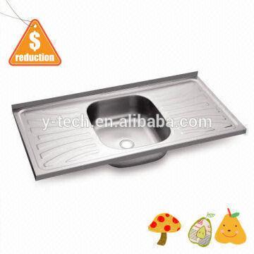 high back kitchen sink kitchen supplier double drain board kitchen ...