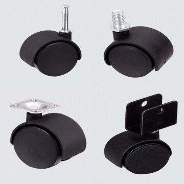China Furniture Caster Wheel ,twin Caster,nylon Caster Size:30mm,40mm,