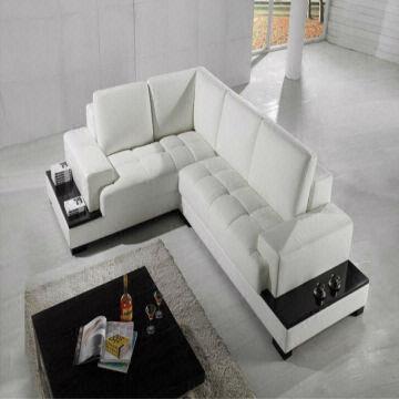 Moden new design top garin leather l shaped storage corner for Sofa cama 180 largo