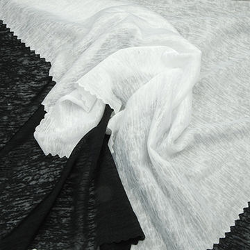 Taiwan Moisture Wicking Fabric in Cicada Wing Looking Jersey Crepe, Made of 100% Poly