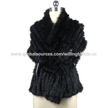 China Women fur fashion shawls