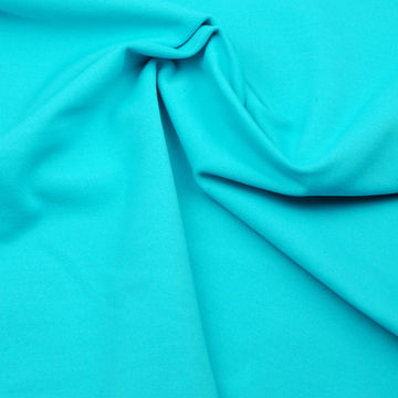 Taiwan UV-cut High Gauge Jersey Fleece Fabric, Made of Poly and Spandex