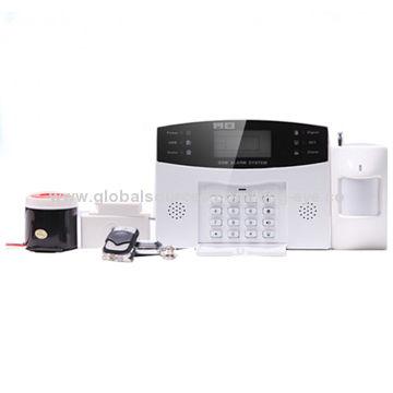 Wireless Digital Gsm Home Security Alarm Systemwirelesswire Type