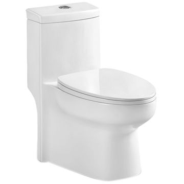 Beau China WC Closet Toilet With S Trap 300mm/400mm Roughing In And P ...