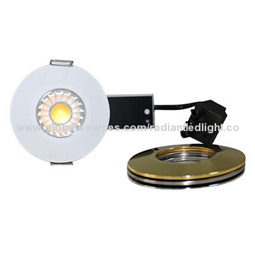 China 3-kind of light color recessed LED downlight