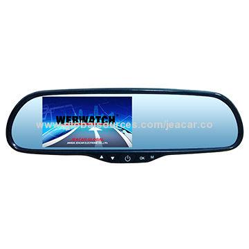 China Rear View Mirror Car DashCam, DVR Accident Video Recorder, Dual-Camera 1080p HD
