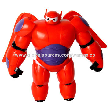 China Big Hero 6 Action Figure Toy, Baymax Dolls Cartoon Model Toys