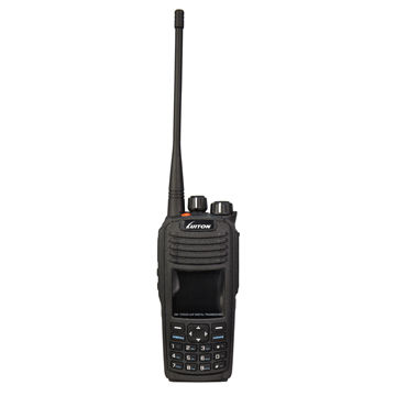 China DG-TD503 UHF Portable DMR Walkie Talkie, 4watts 400-470MHz Analog and Digital with IP67 SMS