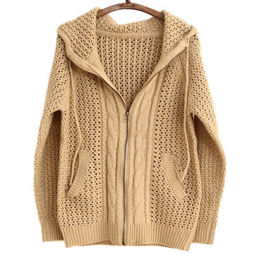 Hong Kong SAR New knitted sweater, made of acrylic, high quality, customized and stock welcomed