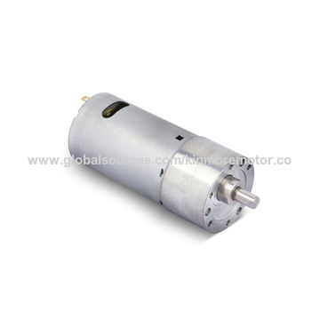 China 12V DC DC motor with gearbox