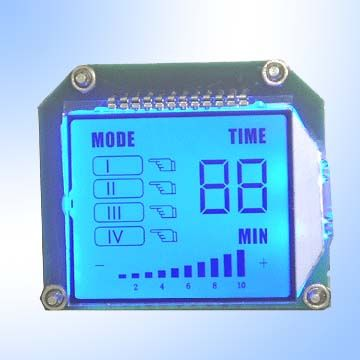 Customized Alphanumeric LCD Module for Heath Monitoring Products