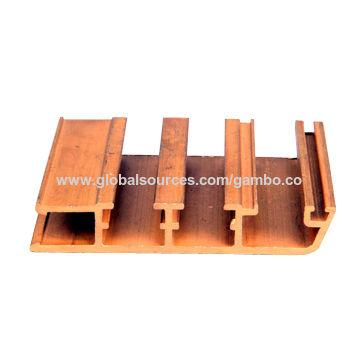 China Brass Extrusion Profile, Copper Window/Door Frames, Decorative/Trim Strip