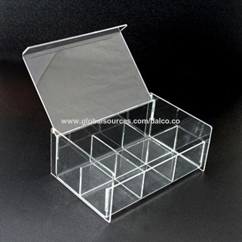 Taiwan Acrylic Cosmetics/Tea Bag/Coffee/Capsule/Jewelry Plastic Organizer for Desktop & Closet or Bathroom