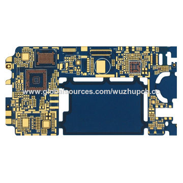 Electronic circuit board for HDI smart phone