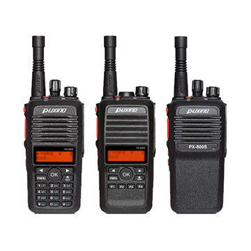 WCDMA Walkie-talkie with GPS Recording, SIM Card Two-way Radio Use 2G/3G/4G Without Repeater