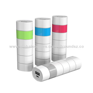 2000-3000mAh mobile phone power bank, USB output, Lithium battery