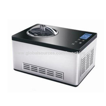 2.0L Capacity Ice Cream Makers with 150W Power, Automatic Ice Cream Maker