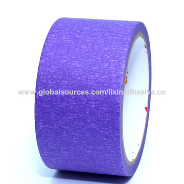 China Solvent Rubber Adhesive in-Door Paint Masking Tape