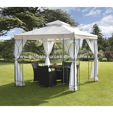 China Gazebo de la crema de 98-inch Suntime Polenza con la red ...