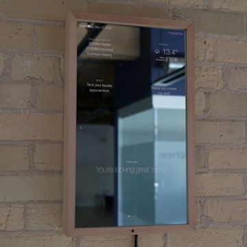 Smart Mirror with Bluetooth