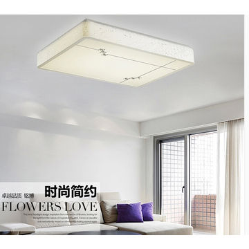 Fu Aluminum Color Led Lights Acrylic Mask Bedroom Living Room Of Choice Modern And Simple Fine Global Sources