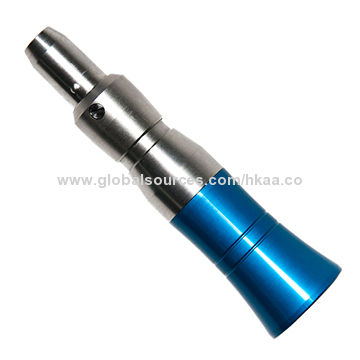 Handpiece for Medical Device, by CNC Machining, Made of Aluminum, with NPT Thread, Clear-anodized