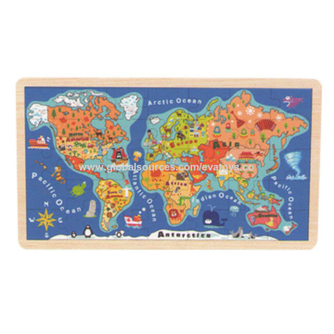 China Map Puzzle.China 2015 Kid S Education Wooden Map Puzzle Toy Unit Measures 45