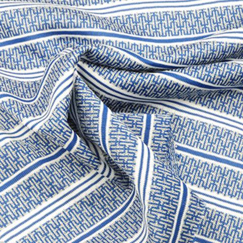 Taiwan Yarn Dyed Jacquard Jersey Fabric, Wicking Treatment