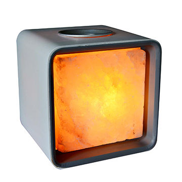 Lhotse/Himalayan Salt Lamp with Essential Oil Function