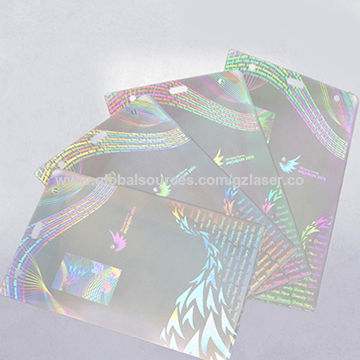 For Like Global Sources Card Film Effect Id Laminated Pouch Holographic Passport