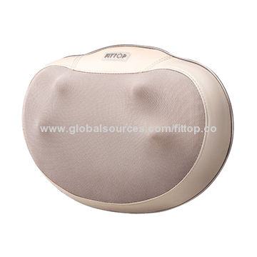 China Electronic Deep Shiatsu Kneading Massage Pillow for Back Neck Waist