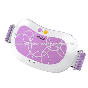 Electronic Mini Massage Belt With 5 Vibration modes 2 heated levels