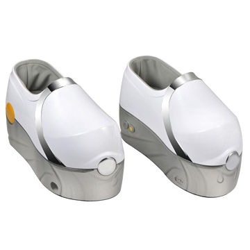 China Fittop Hot-selling Electronic Foot Massager Shoes with Wireless Remote Controller