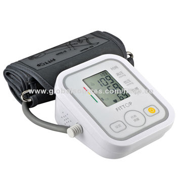 Upper Arm Type Smart Blood Pressure Monitor with Free APP