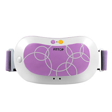 Electronic healthcare mini massage machine with vibration and heated function