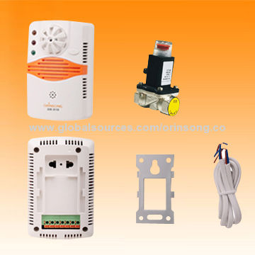 China Home security system combined heat and gas detector