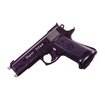 Stun Pistol with 2pcs x 9V Alkaline Battery Power Source