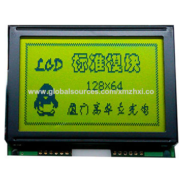 128 x 64 Dots LCM, Small Size, Used in Fingerprint Attendance Machine